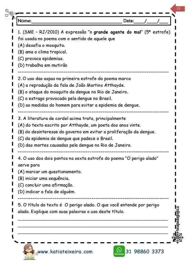 Novo-caderno-Leitura-e-interpreta-4-e-5-page-022 20 Atividades de leitura e interpretação para o 5º ano