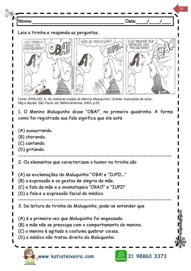 Novo-caderno-Leitura-e-interpreta-4-e-5-page-024 20 Atividades de leitura e interpretação para o 5º ano