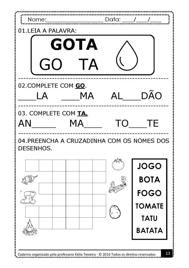 PROJETO-DE-AL-PALAVRA-GATO-page-013 Atividades para baixar projeto de alfabetização palavra  gato