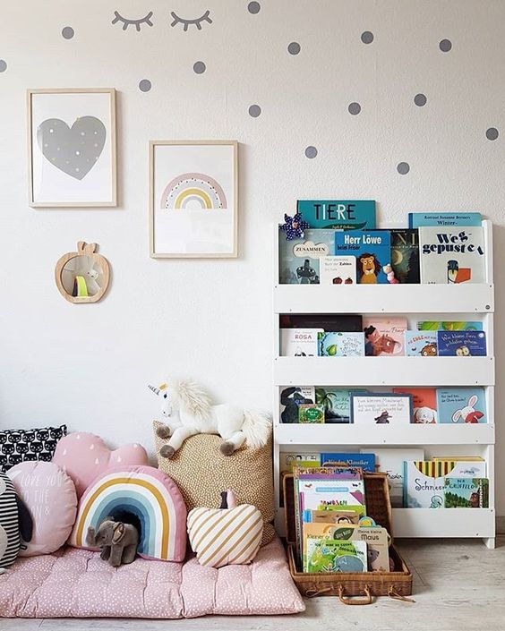 Sugestões-para-cantinhos-de-leitura-10 30 Sugestões para cantinhos de leitura em casa ou na escola