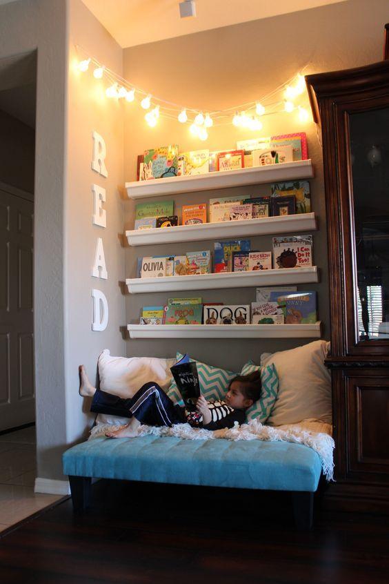 Sugestões-para-cantinhos-de-leitura-7 30 Sugestões para cantinhos de leitura em casa ou na escola