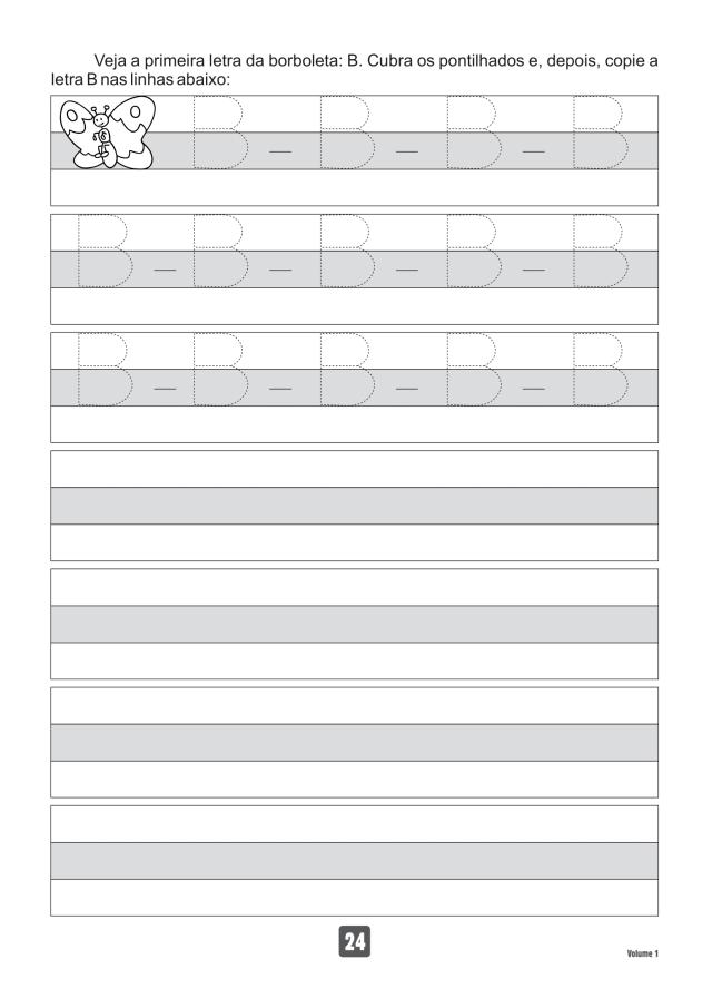 VOLUME1-24 49 Atividades de caligrafia letra bastão