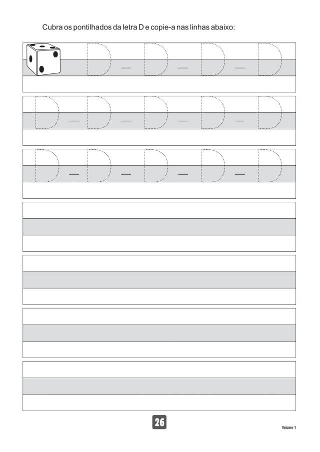 VOLUME1-26 49 Atividades de caligrafia letra bastão