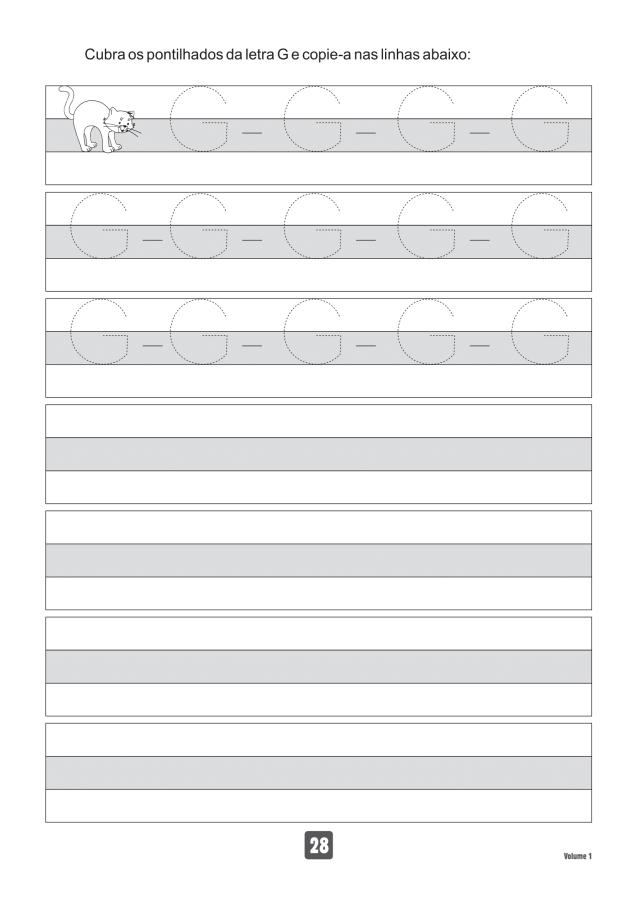 VOLUME1-28 49 Atividades de caligrafia letra bastão