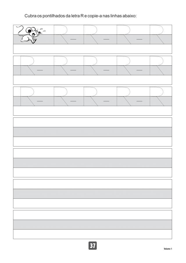 VOLUME1-37 49 Atividades de caligrafia letra bastão