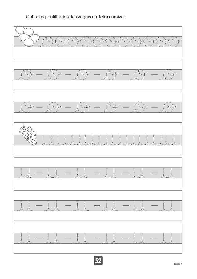 VOLUME1-52 49 Atividades de caligrafia letra bastão