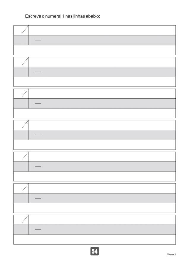VOLUME1-54 49 Atividades de caligrafia letra bastão