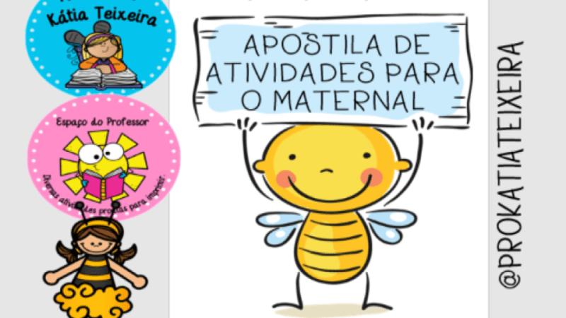 Apostila de atividades para o maternal em pdf