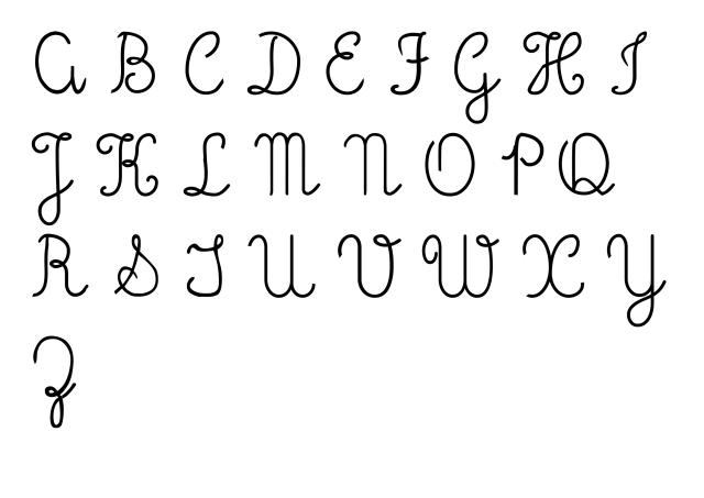 pdf-letra-2 Fonte letra cursiva para baixar