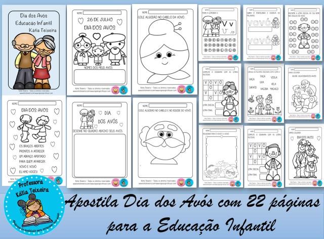 Atividades sobre Dia dos avós para a Educação Infantil