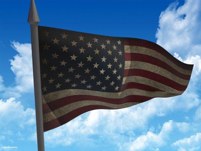 Render de la bandera