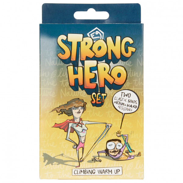ACCESSORIS ESCALADA E9 - Strong Hero Warm Up Band