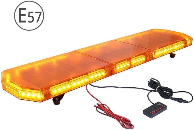 88 LED Barra Llum estroboscòpica d'Advertència Llum Emergència Flash 21 Maneres per 12-24V Remolc SUV Camió Furgoneta Caravana