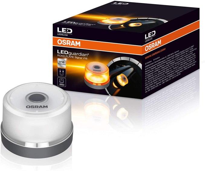 OSRAM LED guardian ROAD FLARE Llum Emergència V16 homologada / autoritzada Cotxe