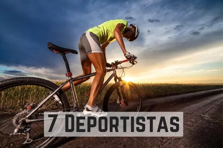 7 Deportistas