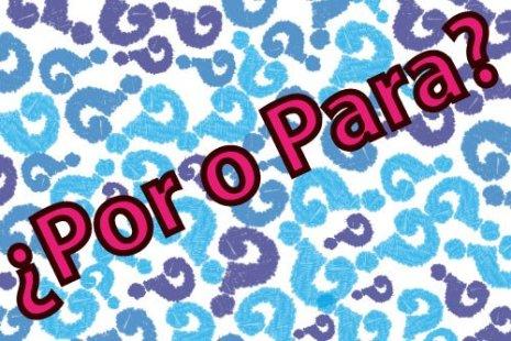 Imagen con o título Por y Para
