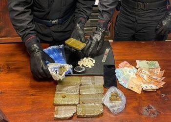 Il sequestro di droga a Mariano Comense