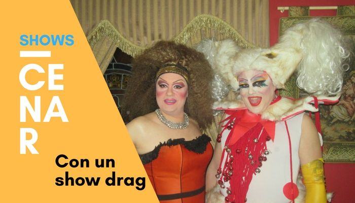 Shows drag queen para cenas especiales