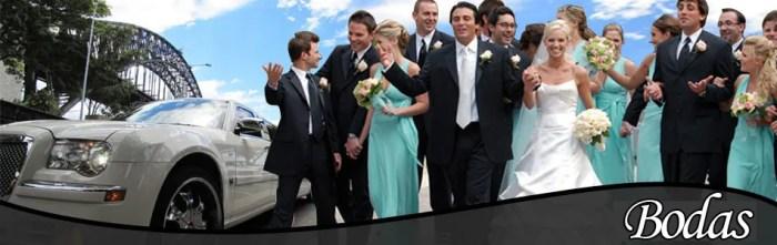 servicios de limusinas para bodas