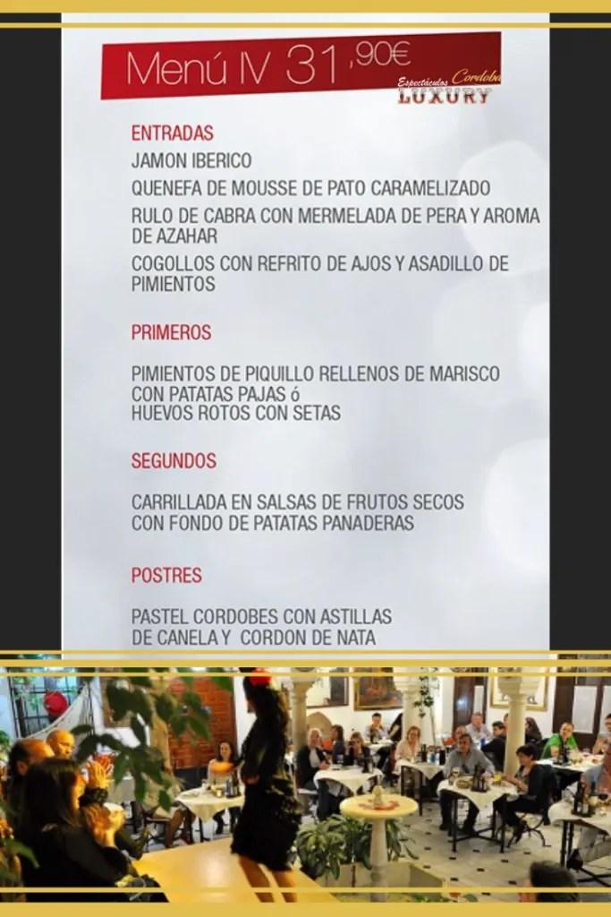 Cena restaurante despedidas en Córdoba - restaurantes para grupos