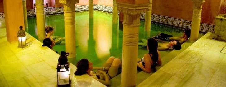 baños arabes para grupos de despedidas
