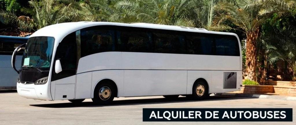 alquiler de autobuses para grupos de despedidas
