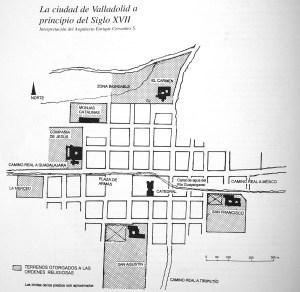 La ciudad de Valladolid a principios del Siglo XVII