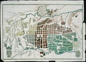 Plano o Mapa de la Nobilissima Ciudad de Valladolid de Michoacan, 1794