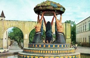 Acueducto, Fuente de las tarascas, 1940-1963