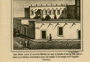 Casa natal de Morelos, México Pintoresco, Tomo III, entre 432-433