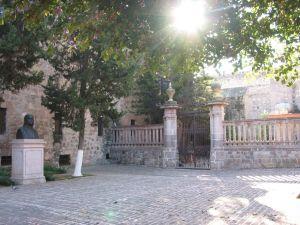 Jardín del Museo Casa Natal de Morelos