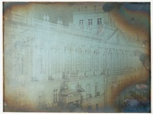 Daguerrotipo Escuela de Ingenieria y Minas, por Jean Prelier Dudoille, circa 1840