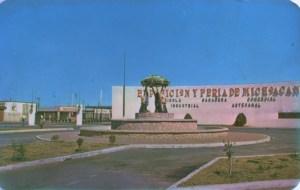 Las Tarascas cuando fueron reubicadas en la Exposición y Feria de Michoacán