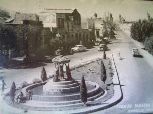 Fuente de las tarascas, 1950-1963