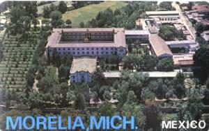 Seminario de Morelia, en Santa María
