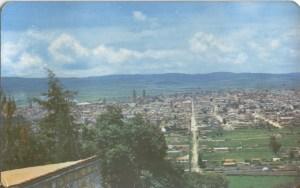 Vista de Morelia desde el Seminario