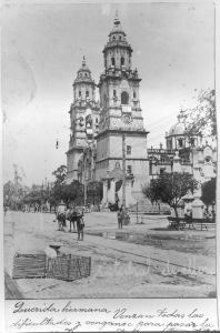 Vista de la Catedral principios del siglo XX
