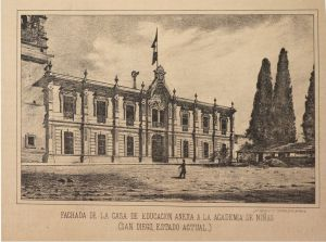 Ex convento de San Diego 21 de abril de 1896