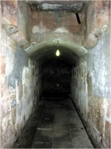 Imagen de un túnel real en Morelia.