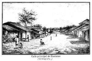 Calle principal de Huetamo 0416