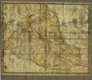 Mapa de la Mayor Parte del Virreynato de la Nueva España, 1793.