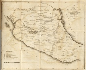 Sketch of the Viceroyalty of New Spain, 1810