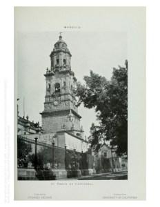 Torre Oriente de la Catedral.