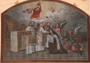 Mural en el Templo del Carmen