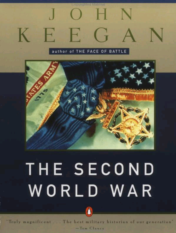 Keegan: WWII front cover