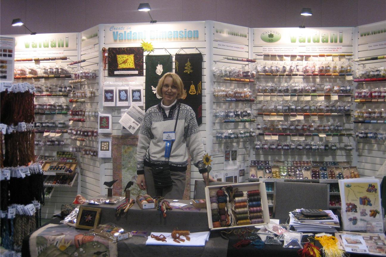Åse Grydeland bor i USA og er Valdanis distributør vis-a-vis de skandinaviske landene