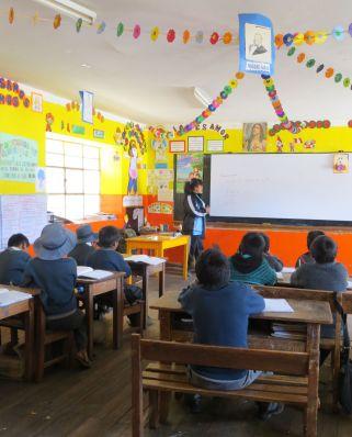 Classroom in Yanama, Cusco