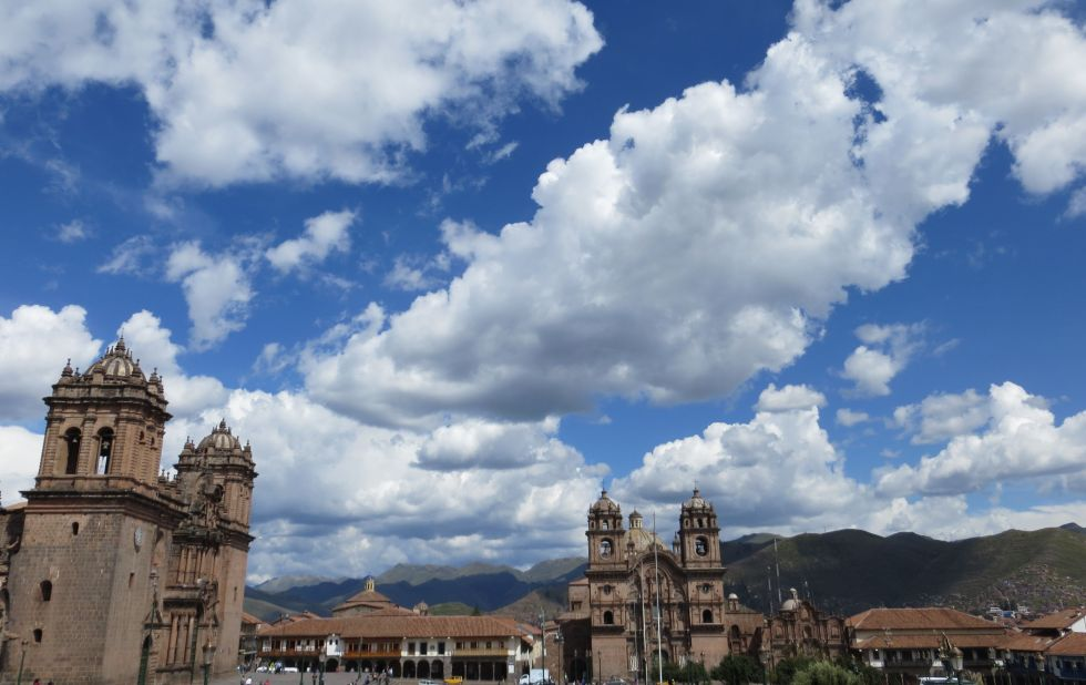 Sky over Cusco