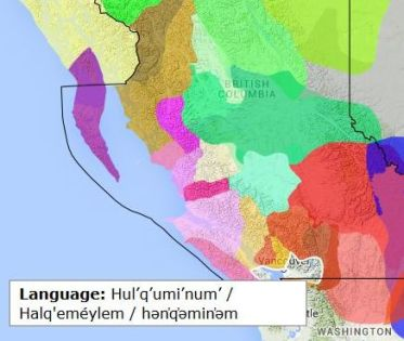 Halkomelem - BC Language Map