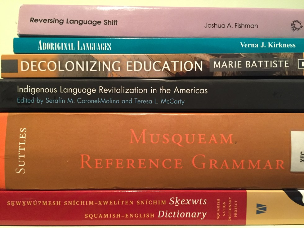 Indigenous language books